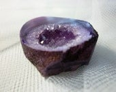 Purple and Violet Agate Druzy/Drusy Cabochon CAB
