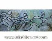 Metallic Blue Triathlon Sequence