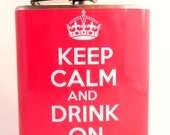 Keep Calm and Drink On : Pink