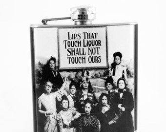 Flask : Liquor Lips