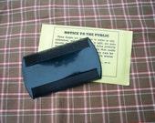 Reproduction Civil War Hard Rubber Comb