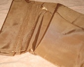 Soft Brown nylon lining yardage