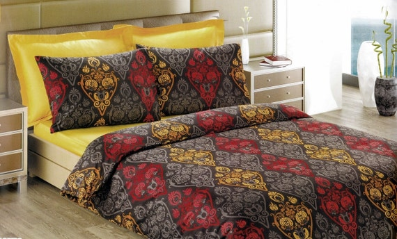 Items Similar To Custom Queen Size Mustard Yellow And