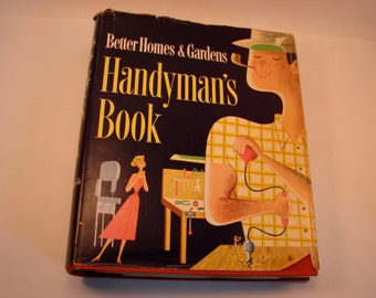 Better Homes and Gardens Handyman's Book 1951 First Edition