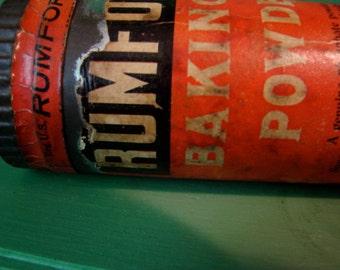 Rumford Baking Powder Tin