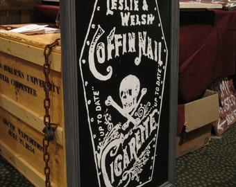 Coffin Nail Cigarettes Sign