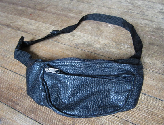 Faux Leather Printed Fanny Pack