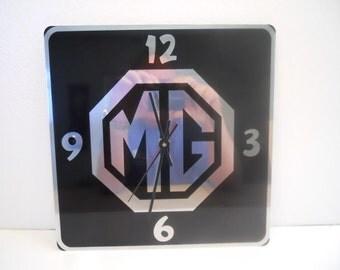 """MG Triumph Jaguar or Morgan 11"""" Wall Clock"""