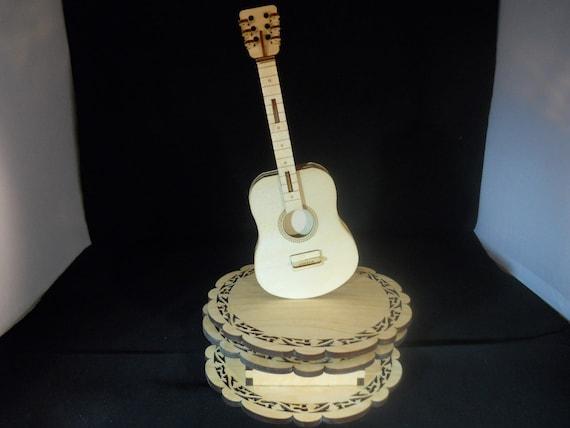 Music Box Guitar personalized