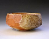 Low faceted teabowl