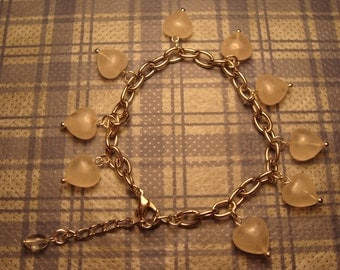 Dangling Heart Bracelet