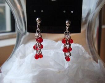 Red Berries Earring