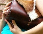 Springbok Leather Handbag