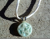 Blue Pearl Pentacle Free Shipping to US and Canada