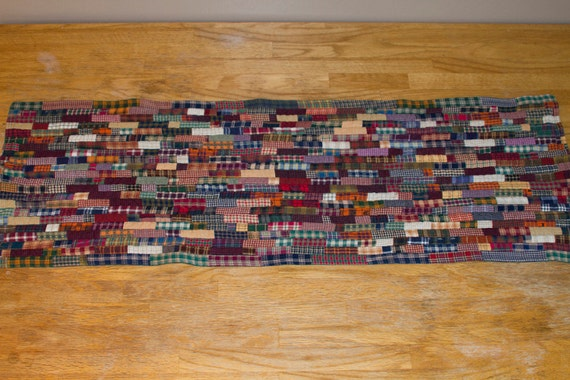No. 4, Homespun String Quilted Table Runner