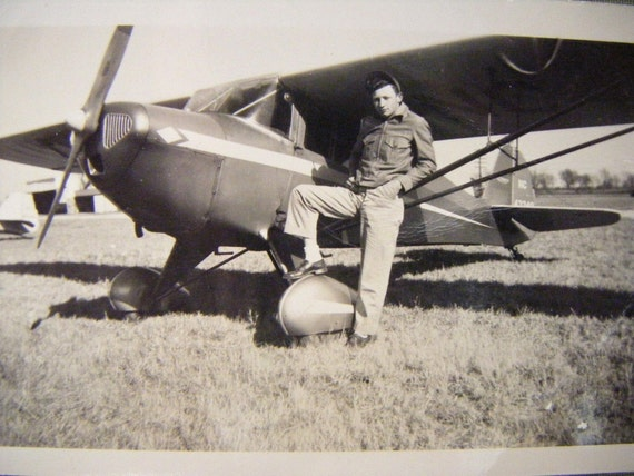 Vintage Photographs-Into the Wild Blue Yonder