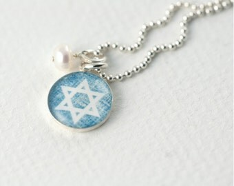 Star of David Necklace | Jewish Star Necklace | Sterling Magen David Necklace