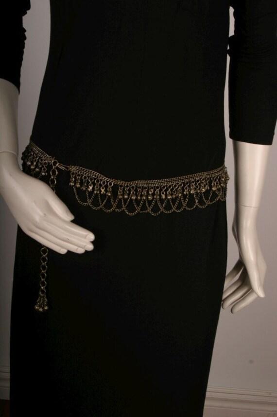 Belt women chain hippie Vintage bells OSFA