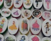 Strawberry Shortcake Image on Soap: Custom Order- Reserve Listing