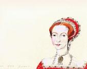 Queen Elizabeth- Fine Art Print- Tudors
