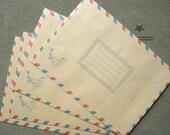 Air mail envelopes - Kraft envelopes - Pack of envelopes