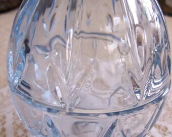 Shades of Blue GORHAM EASTER EGG Crystal Decanter