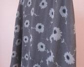 90s Daisy A-Line Skirt
