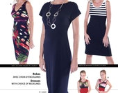 Jalie 3024 Knit Dresses - All sizes included in pattern (children to adult)