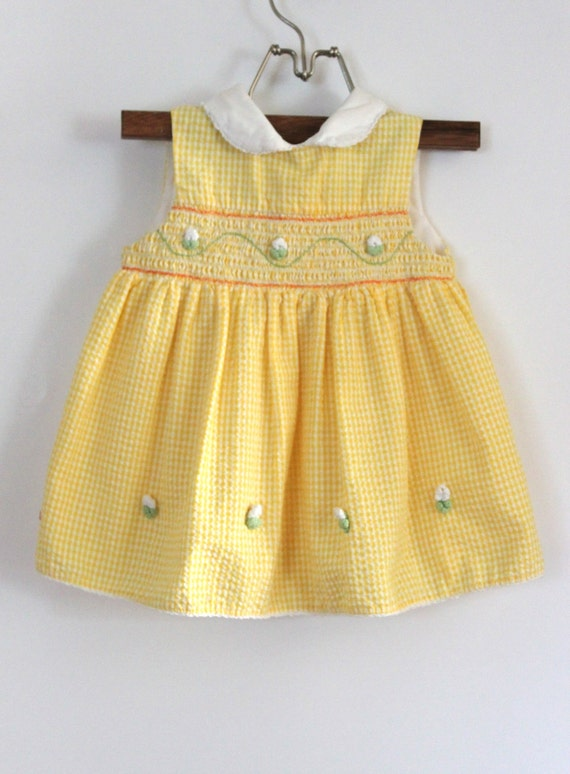Vintage Baby Girl Dress (Size 24 Months)