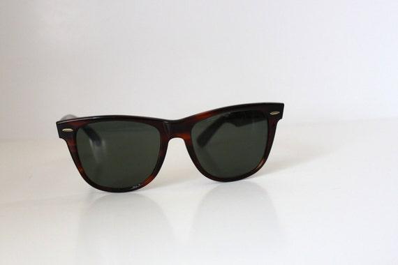 Vintage RAY BAN (Bausch and Lomb) L1725 Tortoise Wayfarer 2 Sunglasses