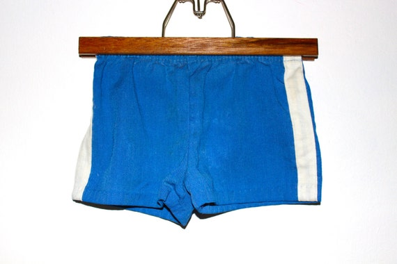 Vintage Boys Blue Retro Shorts (3T)