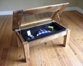 Coffee Table, Memento Display Case