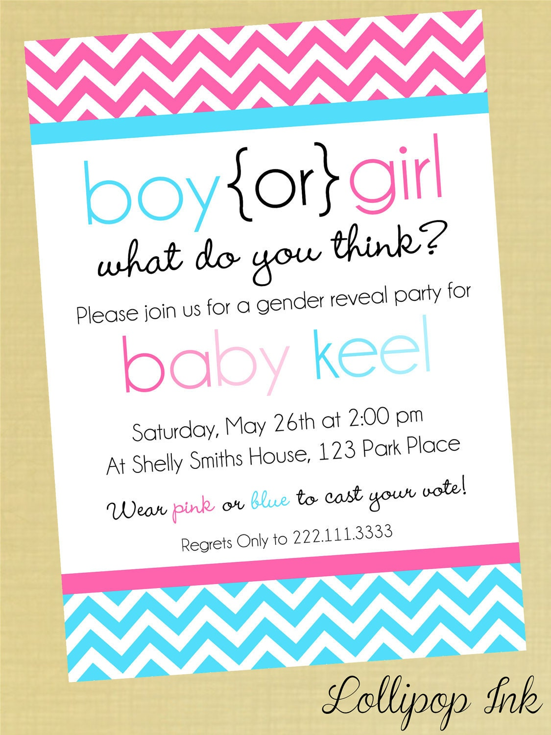Wording For Gender Reveal Invitations was great invitation layout