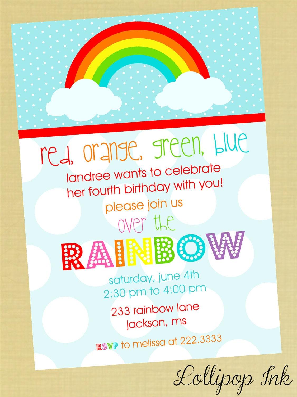 Unicorn Birthday Invitation Templates for amazing invitation design