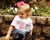 I'm a Boot & Bow Wearing Kinda Gal - Boutique Embroidery Applique Shirt or Onesie