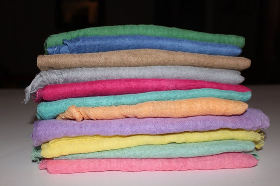Buy 3 Cheesecloth Listings at 6.49 each get 1 FREE High Quality Grade 50 Cheesecloth Newborn/Maternity Wrap