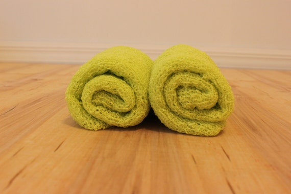 Bright Lime Knit Stretch Wrap Maternity/Newborn Photography Prop