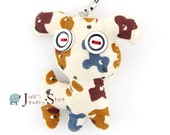 Cute Sewed Little Dog Puppy Key / Cellphone Charm Pendant,Home decoration Ornament