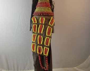 African Doll from Ghana, Made in 60's