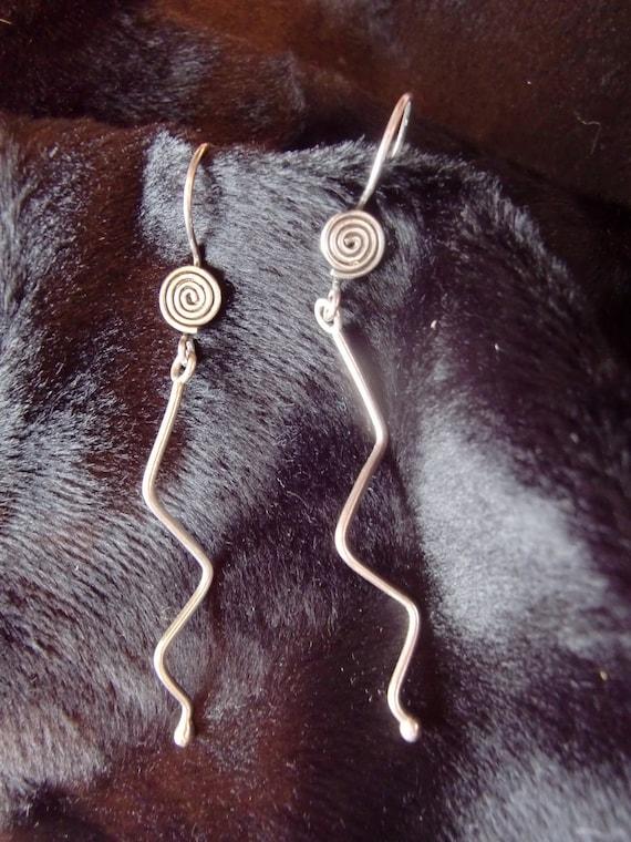 Wire Geometric Earrings - On Sale - Gift Box