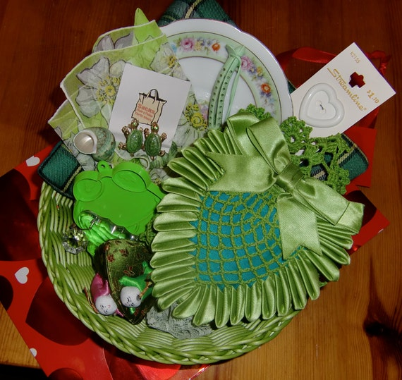 Green Vintage Items - Turtle Pins - Kermit the Frog Cookie Cutter - and MORE