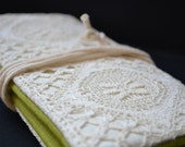 English cider lace clutch....