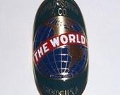 The World Schwinn Bike Badge Emblem Etched Brass