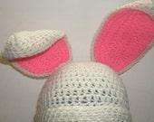 Toddler-Adult Easter Bunny Hat