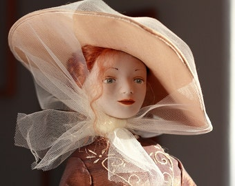 OOAK Art Doll Aurelia - Collectible doll - OOAK handmade artist doll lady
