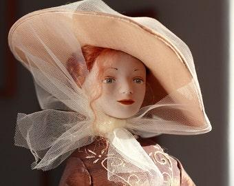 Aurelia. Living Doll OOAK handmade artist doll .