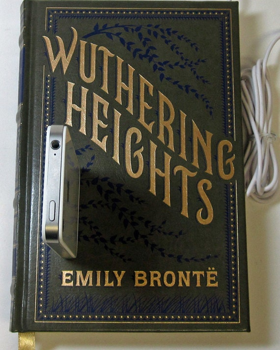 Wuthering Heights Book Dock for iPhone and iPod