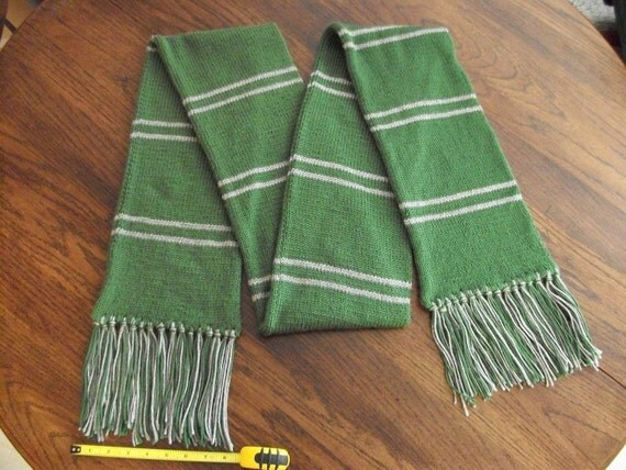 Wizard Gear-Slytherin House Scarf
