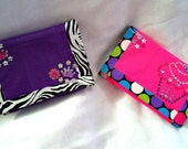 Pretty In Pink or Purple Girls Duct Tape Wallet