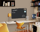 Chalkboard Ripped Note Vinyl Decal
